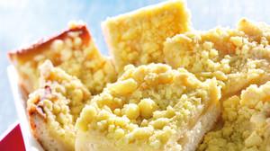 leckerer Blech-Apfelkuchen mit Streuseln